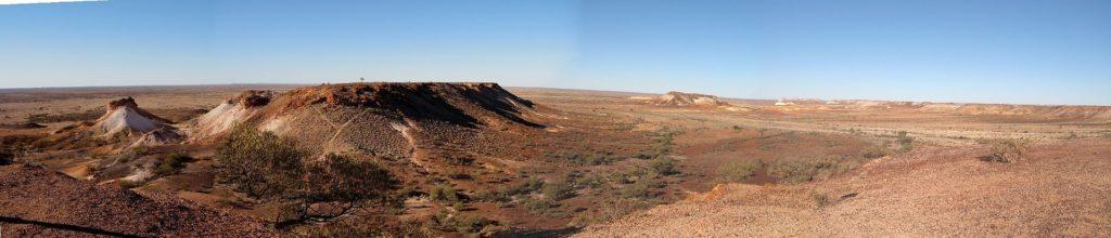 Типичный пустынный ландшафт Кубер-Педи