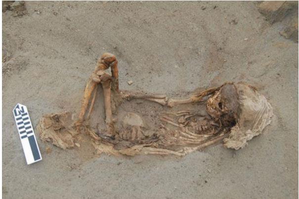 Типичное детское погребение