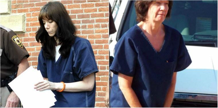 Шеннон и Дайана были немедленно арестованы на месте происшествия.